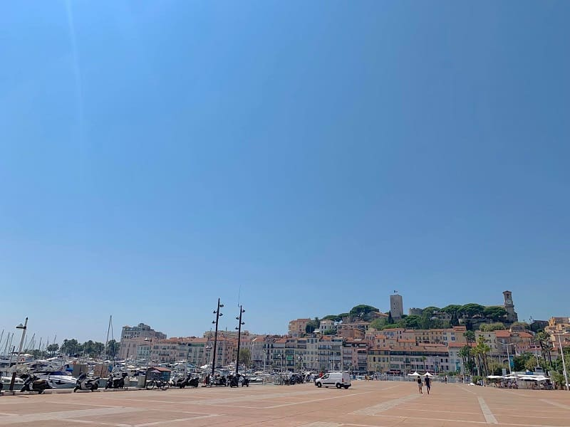 Cannes Old City View
